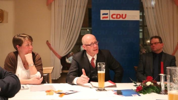Jahreshauptversammlung 2016 mit Landrat Dr. Schwemer